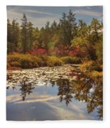 Pine Barrens New Jersey Whitesbog Nj Fleece Blanket