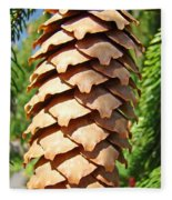 Pine Cone Art Prints Pine Tree Artwork Baslee Troutman Fleece Blanket