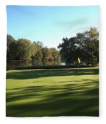 Pine Ridge Golf - Beautiful 14th Par 3 Fleece Blanket