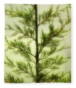 Pine Shower Fleece Blanket