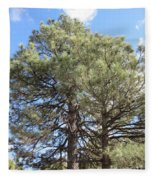 Pine Tree Fleece Blanket