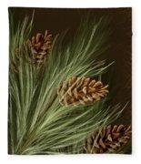Pine Fleece Blanket