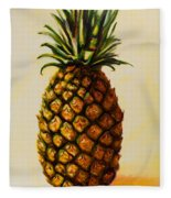 Pineapple Angel Fleece Blanket