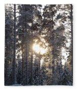 Pines 2 Fleece Blanket