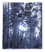 Pines 4 Fleece Blanket