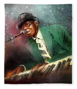 Pinetop Perkins Fleece Blanket