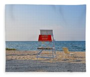 Piney Point Beach Fleece Blanket
