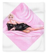 Pink Allure Fleece Blanket
