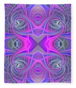 Pink And Purple Fleece Blanket