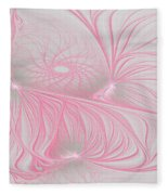 Pink Anyone Fleece Blanket