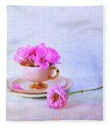 Pink Attitude Fleece Blanket