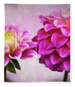 Pink Beauties Fleece Blanket