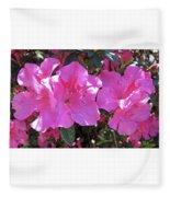 Pink Bevy Of Beauties Fleece Blanket