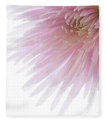 Pink Bloom Fleece Blanket