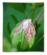 Pink Bud Fleece Blanket