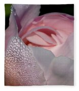 Pink Dew Fleece Blanket