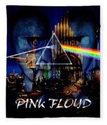 Pink Floyd Montage Fleece Blanket
