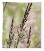 Pink Grass Fleece Blanket