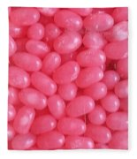Pink Jelly Beans Fleece Blanket