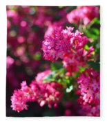 Pink Profusion 1 Fleece Blanket