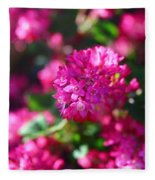 Pink Profusion 2 Fleece Blanket