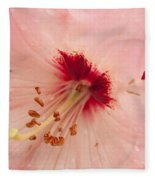 Pink Rhododendron Fleece Blanket