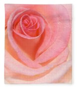 Pink Romance Fleece Blanket