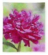 Pink Ruffles Fleece Blanket