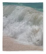 Pink Sand Beaches Fleece Blanket