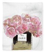 Pink Scented Fleece Blanket