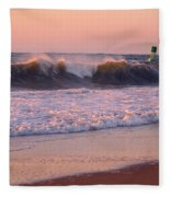 Pink Sky Dawn Fleece Blanket