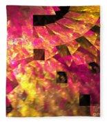 Pink Windows Fleece Blanket