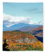 Pinkham Notch Fleece Blanket