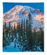 Pinnacle Saddle Winter Fleece Blanket
