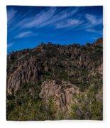 Pinnacles View Fleece Blanket