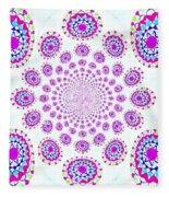 Pinwheel Pop Fleece Blanket