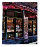 Pioneer Square Tavern Fleece Blanket