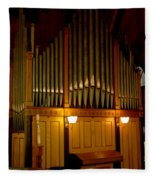 Pipe Organ Fleece Blanket