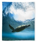 Pipe Turtle Glide Fleece Blanket