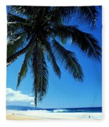 Pipeline Beach Fleece Blanket