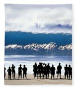 Pipeline Shadowland - 1 Of 3 Fleece Blanket