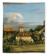 Pirna. The Obertor From The South Fleece Blanket