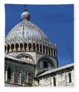 Pisa Cathedral Dome Fleece Blanket