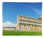 Pisa Panorama Fleece Blanket