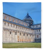 Pisa - Piazza Dei Miracoli Fleece Blanket