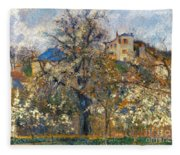 Pissarro: Garden, 1877 Fleece Blanket