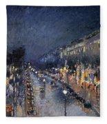 Pissarro: Paris At Night Fleece Blanket