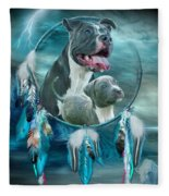 Pit Bulls - Rez Dog Fleece Blanket