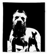 Pitbull Fleece Blanket