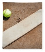 Pitchers Mound Fleece Blanket